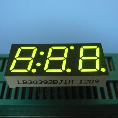 "China 0.39"" Green Triple Digit Seven Segment LED Display For Intrument Panel Indicator supplier"
