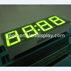 China Super Green 0.56 Inch Clock LED Display , Common Anode 7 Display supplier