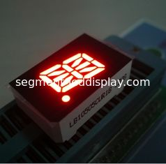 China 1 Single Digit Segment Alphanumeric Numeric LED Display OEM / ODM Green supplier