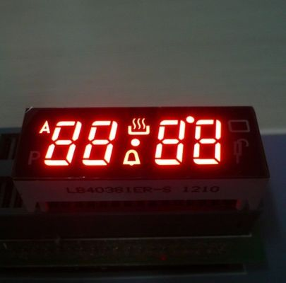 China Digital Red 4 Digit Seven Segment Display Common Anode For Fuel Gauge supplier