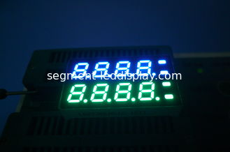 China 7mm 8 Digit 7 Segment Display OEM ultra white pure green Color supplier