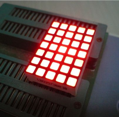 China Waterproof 5x7 Dot Matrix Led Display Square with High brightness supplier