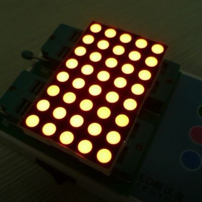 China Environmental 8x5 Dot Matrix Led Display , LED Message Display supplier