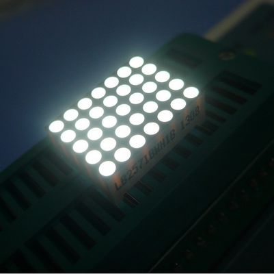 China Ultra Bright Red 2.0mm 5x7 Dot Matrix Display High brightness supplier