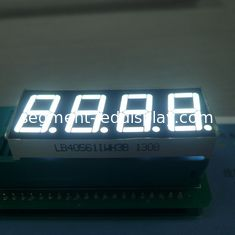 China Ultra White Numeric LED Display 4 Digit 7 Segment For Process Indicator supplier