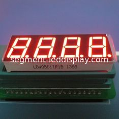 "China High Brightness 0.56"" 4 Digit 7 Segment Nnmeric Led Display Ultra Red For Temperature Indicator supplier"