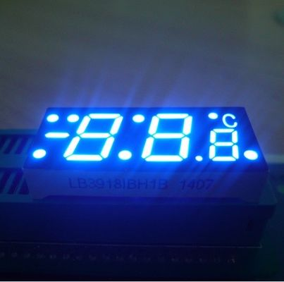 China IC Compatible Custom LED Display 7 Segment Common Anode For Temperature Control supplier