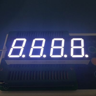 Common Anode 4 Digit Seven Segment Display 2.8-3.3V/ Led For Temperature Controller