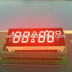 China Super Red Custom LED Display Common Anode 4 Digit 7 Segment DIP Pin Type supplier