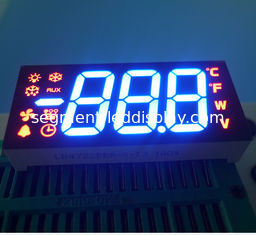 Refrigrator Controller Custom Led Display Ultra Blue / Red Color ROHS Certificated