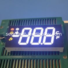 Multicolor 3 Digit Seven Segment Display Ultra Bright For Refrigerator Control