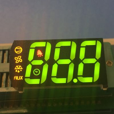 China Custom design Multicolour Triple digit 7 segment led display for refrigerator control supplier