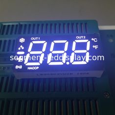 Ultra White Common Cathode 7 Segment Display , Led Mobile Billboard 80-100mcd