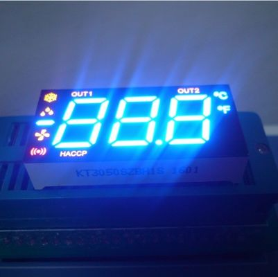 China Multiplexing Common Cathode Seven Segment Display Three Digit Fast Heat Dissipation supplier