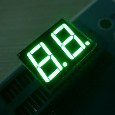 China Low Voltage 2 Digits 7 Segment LED Display Various Colours Enviromental Protection Material supplier
