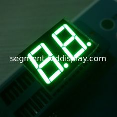 Low Voltage 2 Digits 7 Segment LED Display Various Colours Enviromental Protection Material