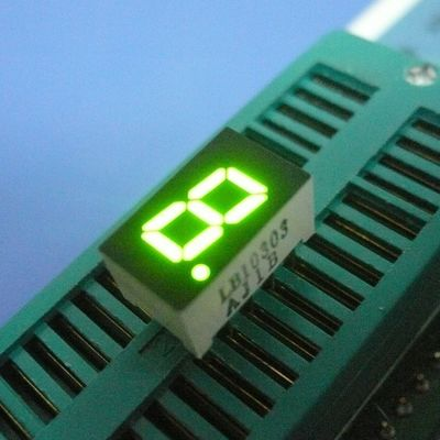 China Elegant Design Common Anode Single Digit 7 Segment Display Enviromental Protection For Digital Indicator supplier