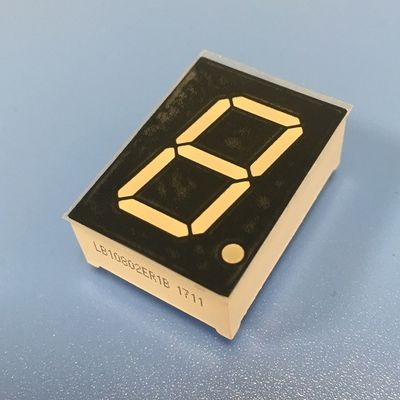 High Brightness 7 Segment Led Display Single Digit 0.8 Inch Low Current Operation