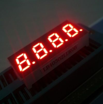 0.56'' 4 Digit Seven Segment Display , Led Numeric Display For Temperature Control