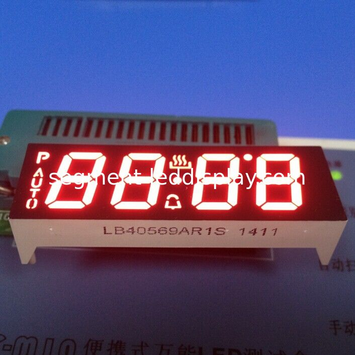 4 Digit Seven Segment Display common anode +120C Operating Temperature supplier