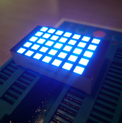 Ultra Blue 3Mm 5X7 Dot Matrix Led Display Row Cathode  For Elevator Position Indicator