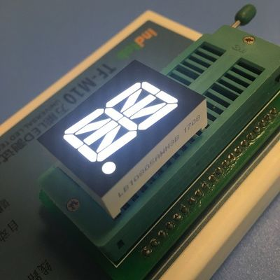 Alphanumeric 16 Segment LED Display Single - Digit 20.32mm For Process Control