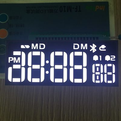 84 * 34 * 6.5mm Custom LED Display Long Lifetime For Home Electronic Appliances