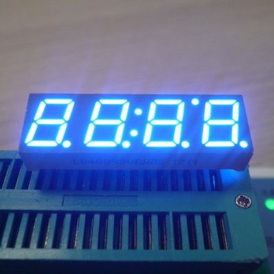 "STB 0.39"" Digital Clock Led Display 4 Digit Diffused Epoxy Grey Surface Long Lifespan"