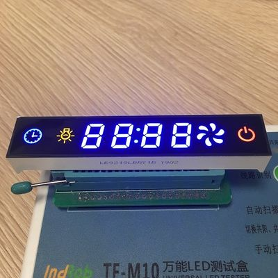 Multicolour Common Cathode 7 Segment Display 12.7mm Digit Height Low Power Consumption