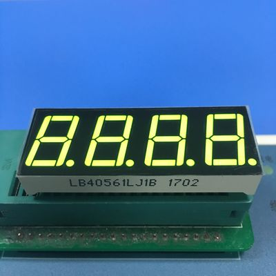 Four Digit 7 Segment LED Display Small Current Drive High Efficiency Easy Assembly