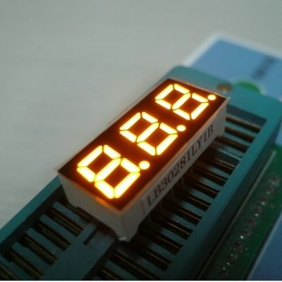 Multiplexing 3 Digit 7 Segment Led Display Low Voltage Small Current Drive