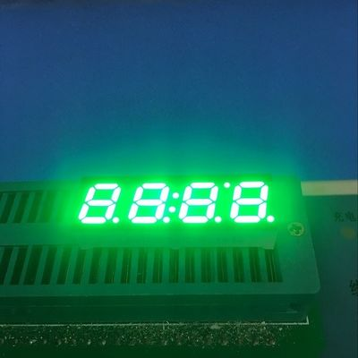 Cathode 4 Digit Seven Segment Display 0.36'' Fast Heat Dissipation RoHS Certificated