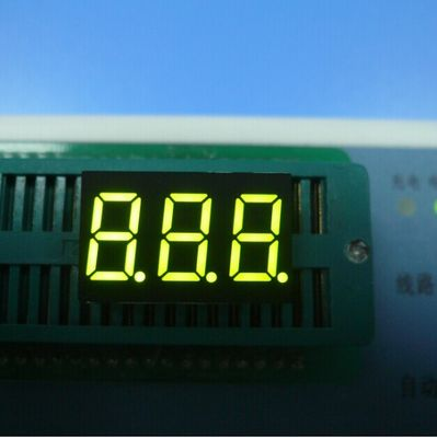 Common Anode Triple Digit 7 Segment Display Part Number 0.39 inch  Home Appliances