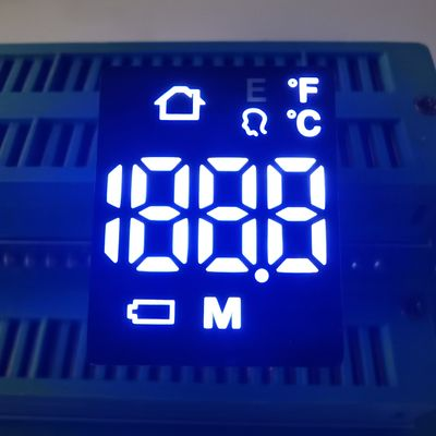 Ultra White 6 Pins 120mcd 80mW 20mA 7 Segment LED Display