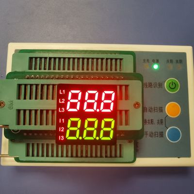 Double Row 3 Digit 7segment  Custom  LED Display Two-Color