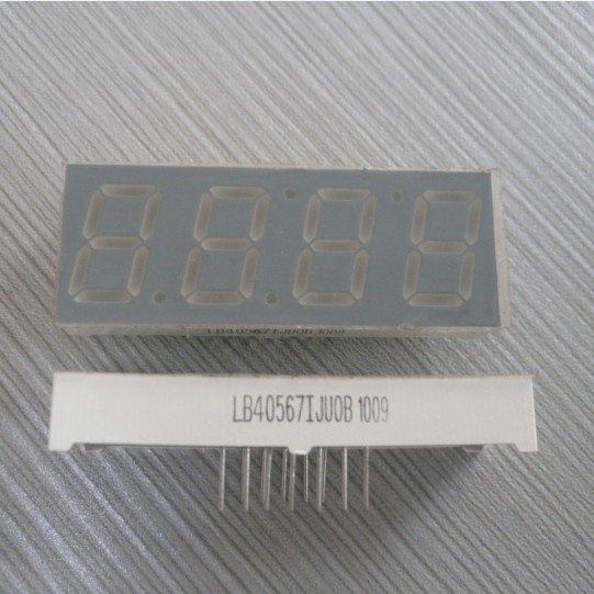 Four Digit Seven Segment Display Anode Microwave Led Clock Dislay