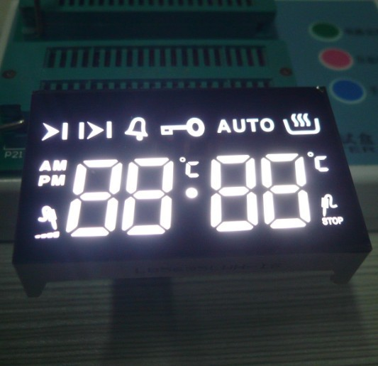 0.58 Inch Led 7 Segment Display For Multifunction Touch Key Oven Time
