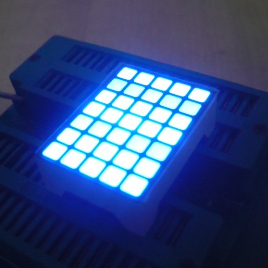 Ultra Red Dot Matrix Led Display 5x7  22 x 30 x 10 mm For Lift Position