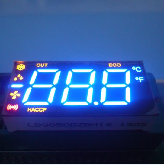 12.7mm Custom LED Display , Seven Segment Display Common Anode