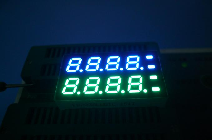 7mm 8 Digit 7 Segment Display OEM ultra white pure green Color
