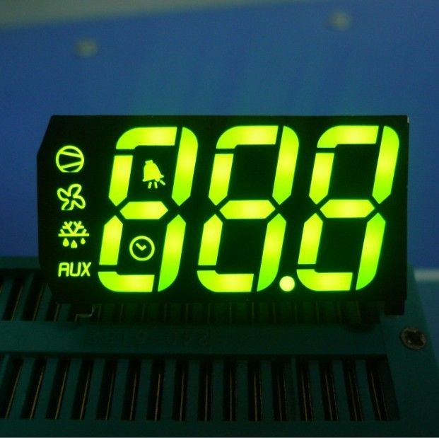 Long Lifetime Custom LED Display Common Anode For Temperature Humidity Defrost Indicator