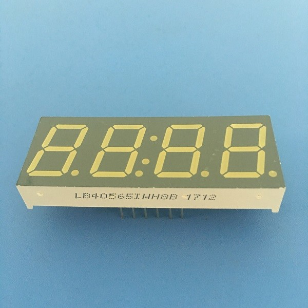 0.56 Inch 7 Segment Led Display 4 Digit High Luminous Intensity Output For Digital Timer Controller